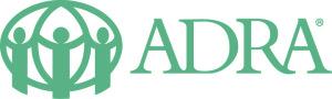 Horizontalni logo ADRA barevne